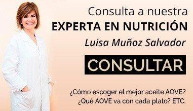 Consulta a nuestra nutricionista